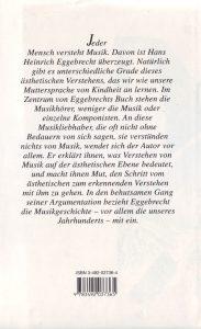 Eggebrecht Musik verstehen rück