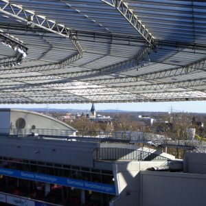 Leverkusen Blick aus BayArena 180225