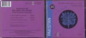 Ali Brothers Darbari CD