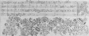 Bach Blumenmuster