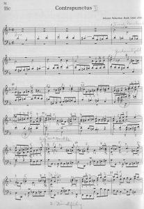Musikwerk Fuge Adrio