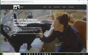 Susanne Schötz Forschung Web Katzen