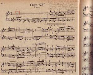 Bach B-dur Fuge
