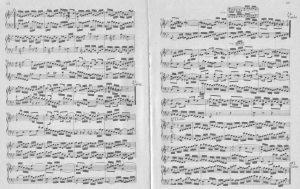 Bach B-dur Preludio b