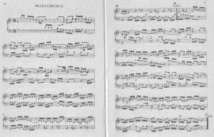 Bach B-dur Preludioa