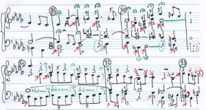 Bach b-moll Klang