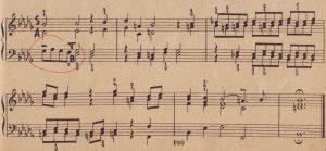 Bach b-moll Schluss