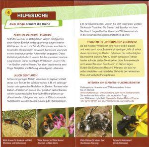 Botanischer Garten Bienen Info a