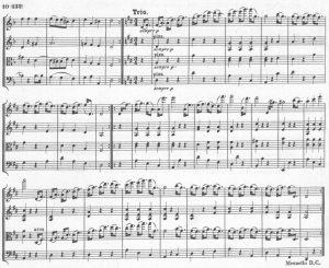 Mozart 421 Trio