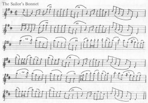 Sailor's Bonnet Notation