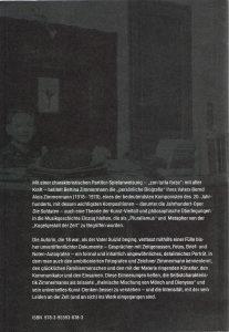 Zimmermann Buch Cover rück